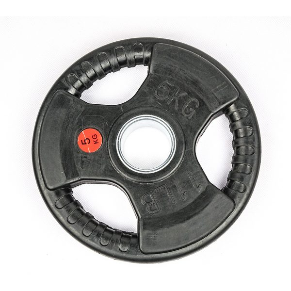 Olympic Rubber Tri-Grip Plate