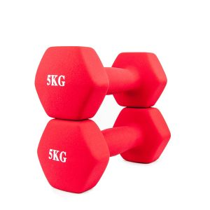 neoprene hex dumbbells