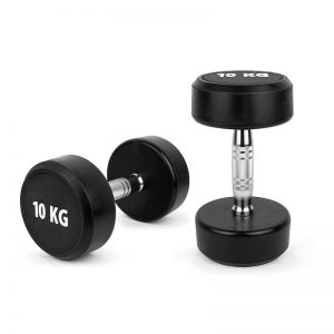 Rubber Coated Dumbbells
