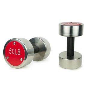 stainless steel dumbbells