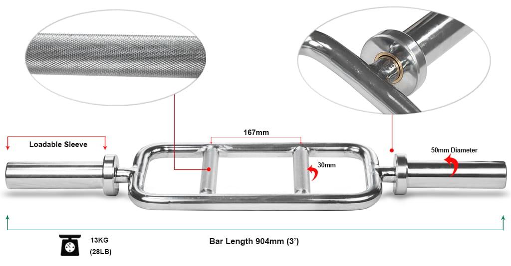 Olympic Tricep Bar