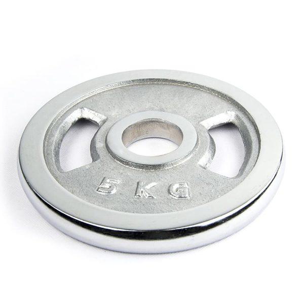 Chromed Cast Iron Grip Plates