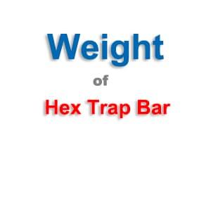 Hex Bar Weight
