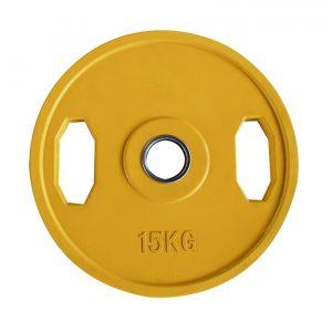 rubber grip weight plates