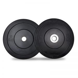 solid rubber weight plates