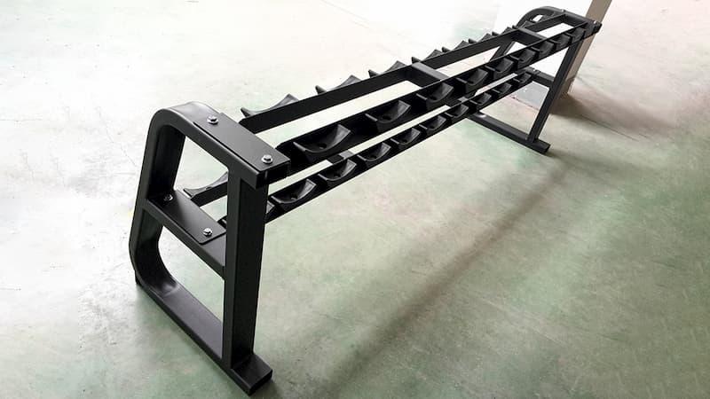 2 tier dumbbell rack